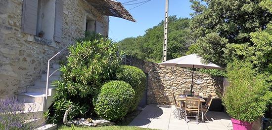 Gîte en Provence avec vue sur le Ventoux